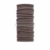 Buff 47653 Chusta wool solid walnut brown