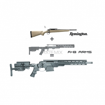 Sztucer Remington 783 .308WIN HB AB ARMS lufa 16,5
